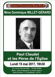 Millet Gérard Paul Claudel 3
